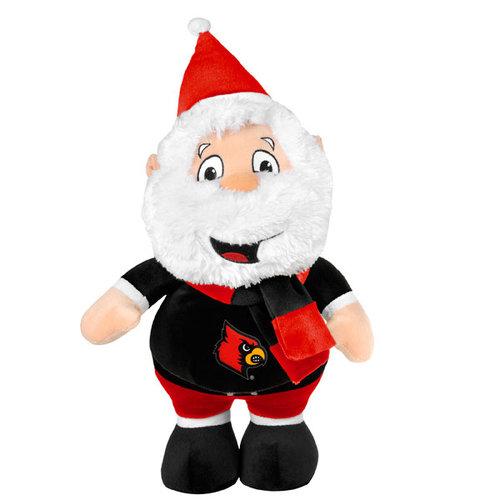 """NCAA - Louisville Cardinals 14"""" Heavy Foot Santa"""