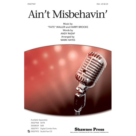 Shawnee Press Ain't Misbehavin' SSA by Thomas