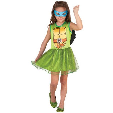 Girls Turtle Costume (Teenage Muntant Ninja Turtle