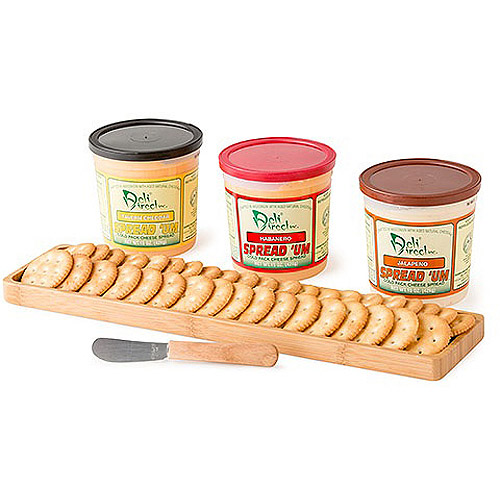Deli Direct Wonderful Wisconsin Variety, Spicy Cheese Spreads