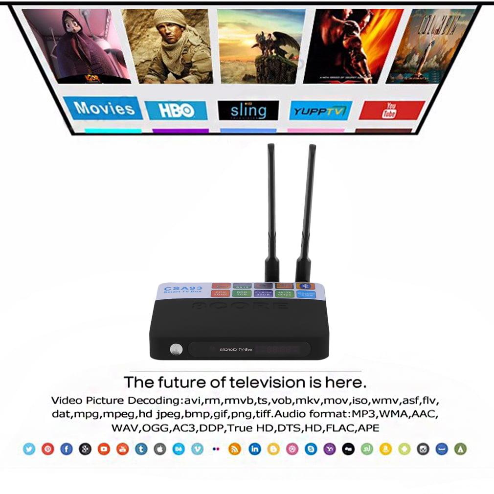 New CSA93-S912 Octa Core Home TV Box 3G/32G Wireless Ente...