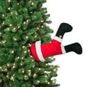 Mr. Christmas Animated Santa Kickers 16 in Christmas Decoration