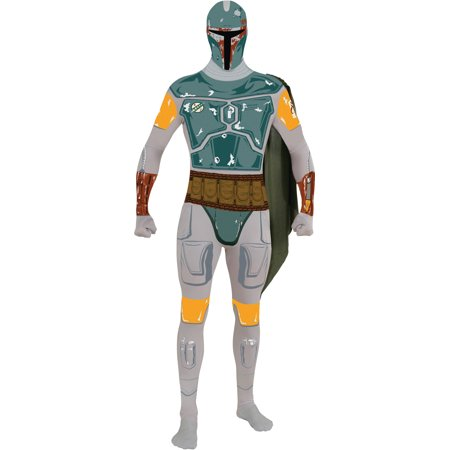 Star Wars 2nd Skin Costume Adult: Boba Fett (Boba Fett Birthday)