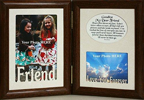 GOODBYE My DEAR FRIEND Picture /& Poetry MemorialBereavement Keepsake Photo Frame
