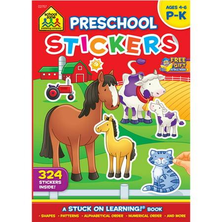 Sticker Workbook-Get Ready For School - Grades P-K