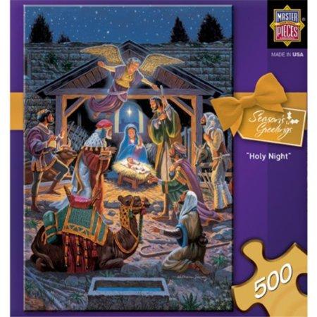 holy night nativity 500 piece jigsaw - Nativity Jigsaw