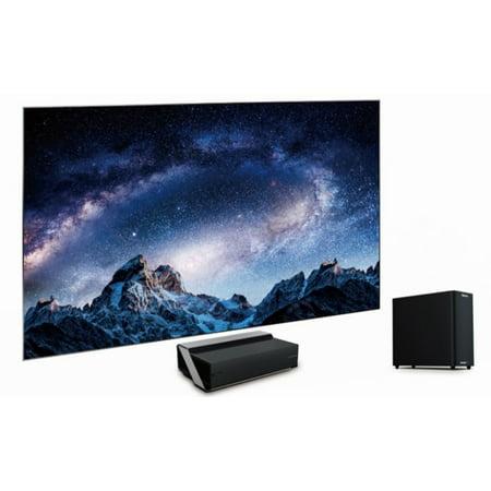 "Hisense 100L8D 100"" 4K UHD Smart Laser TV Bundle (Shipping and Setup"