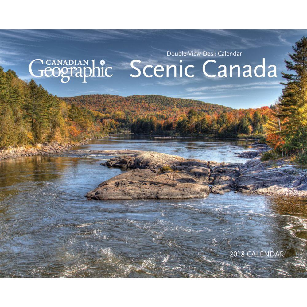 2018 Canadian Geographic Desk Calendar, Canada by Wyman Publishing by