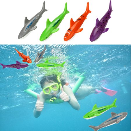 Iuhan Diving Toy Underwater Swimming Pool Gliding Shark Throwing Torpedo Summer - Shark Pool Toy