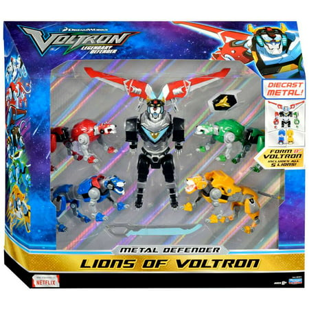 Metal Defender Lions of Voltron Action Figure (Painted Metal Figure)