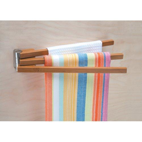 Better Houseware 3-Tier Wall Mounted Towel Bar