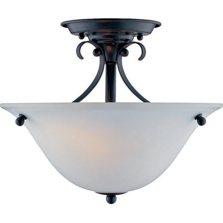 - Boston Harbor F3-2SF-3L Ceiling Fixture, 60 W, 2 Lamp