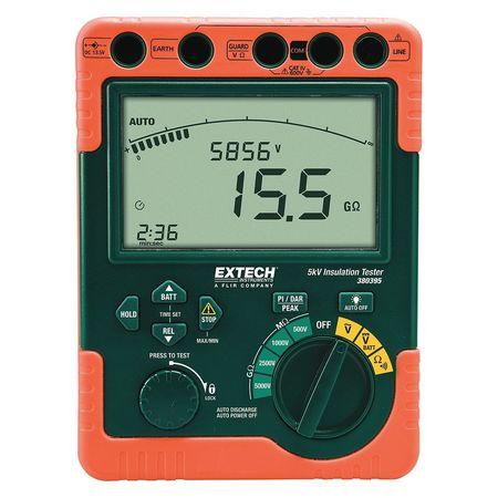 Battery Operated Megohmmeter,5000VDC EXTECH 380395