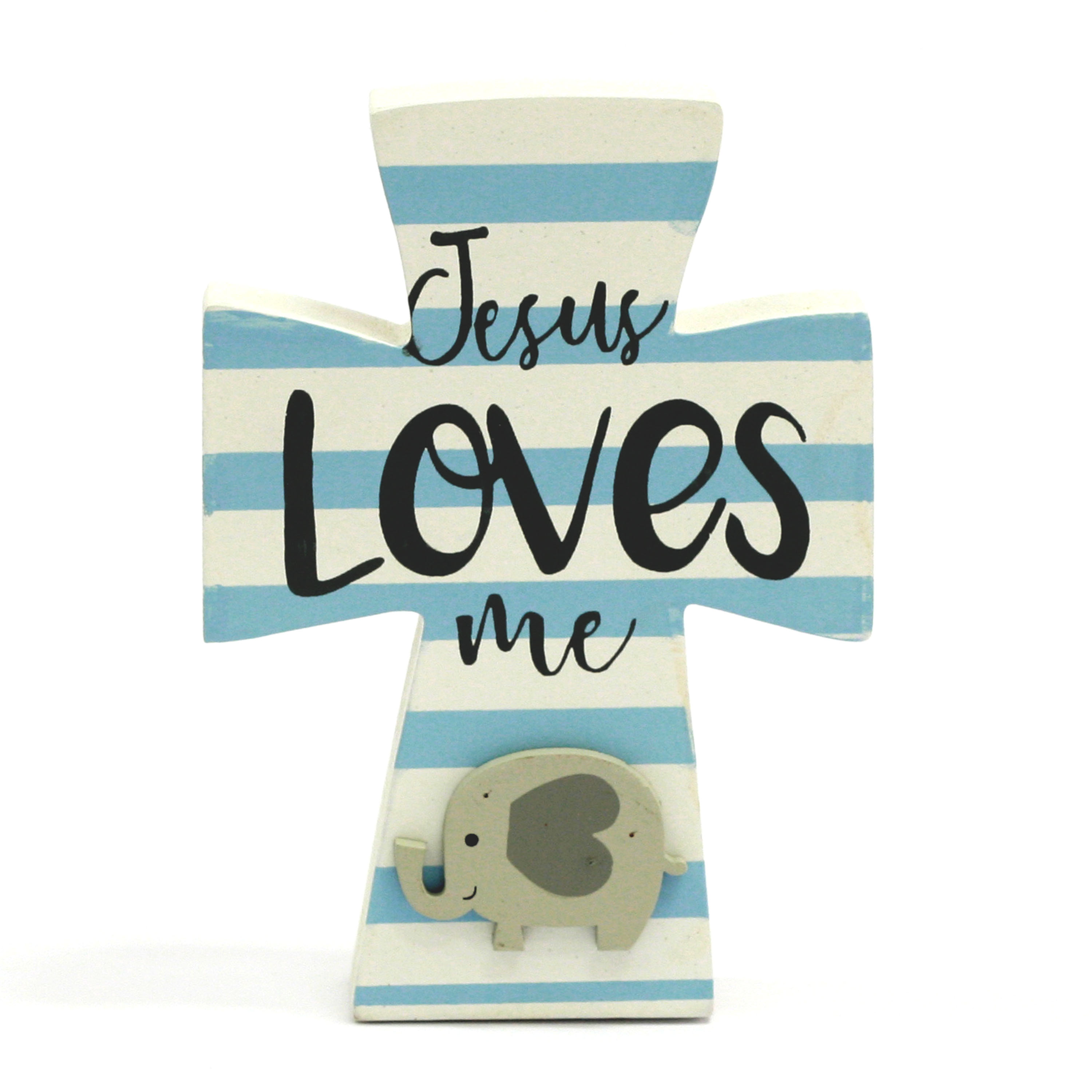 Easter 5.5-inch My First Cross Table Top Décor -Elephant