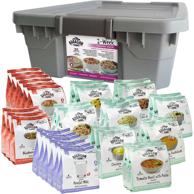 Augason Farms Emergency Food Storage 2 Week Pantry Pack, 31 pc by Augason Farms