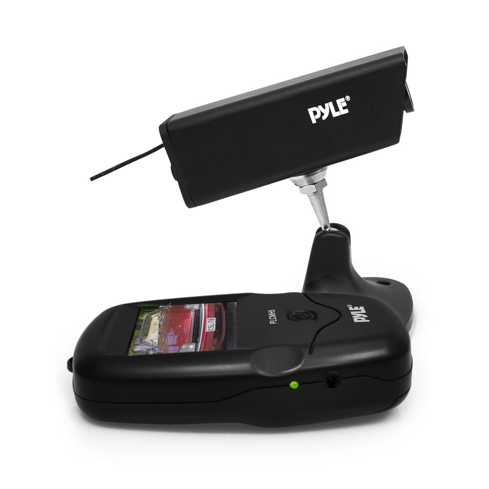 PYLE PLCMH5 - Wireless Rearview Backup Trailer / Hitch Camera, Waterproof Night Vision HD Vehicle Cam, Built-in Rechargeable Battery