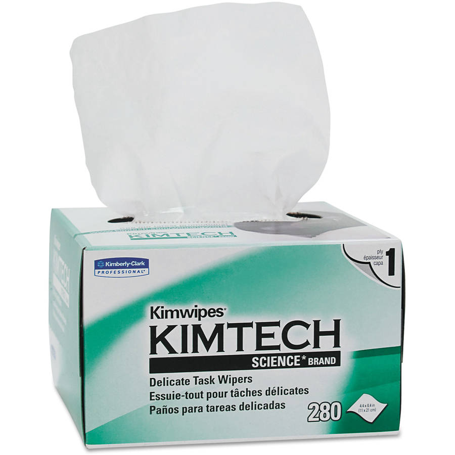 Kimberly-Clark Professional Kimtech Science Kimwipes Tissue, 280 sheets, 30 ct