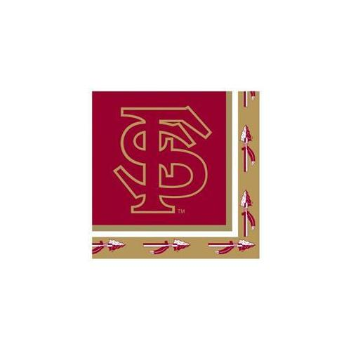 Creative Converting 207230 Florida State Seminoles Lunch Napkins