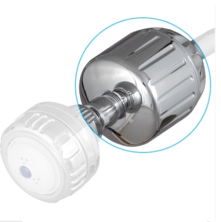 Sprite (HO2-CM) High Output Shower Filter without Head; Chrome