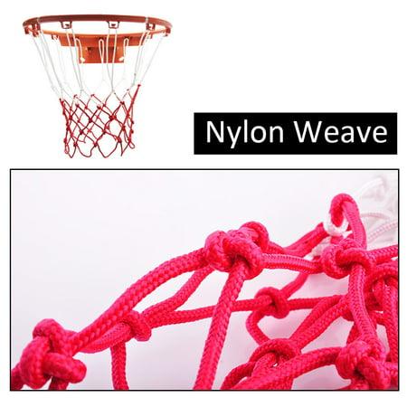 Two-Piece Set Thickened Wear-Resistant Basketball Net 12 Loops Basket Net - image 6 de 8