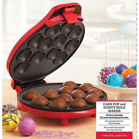 bella cake pop and donut maker red. Black Bedroom Furniture Sets. Home Design Ideas