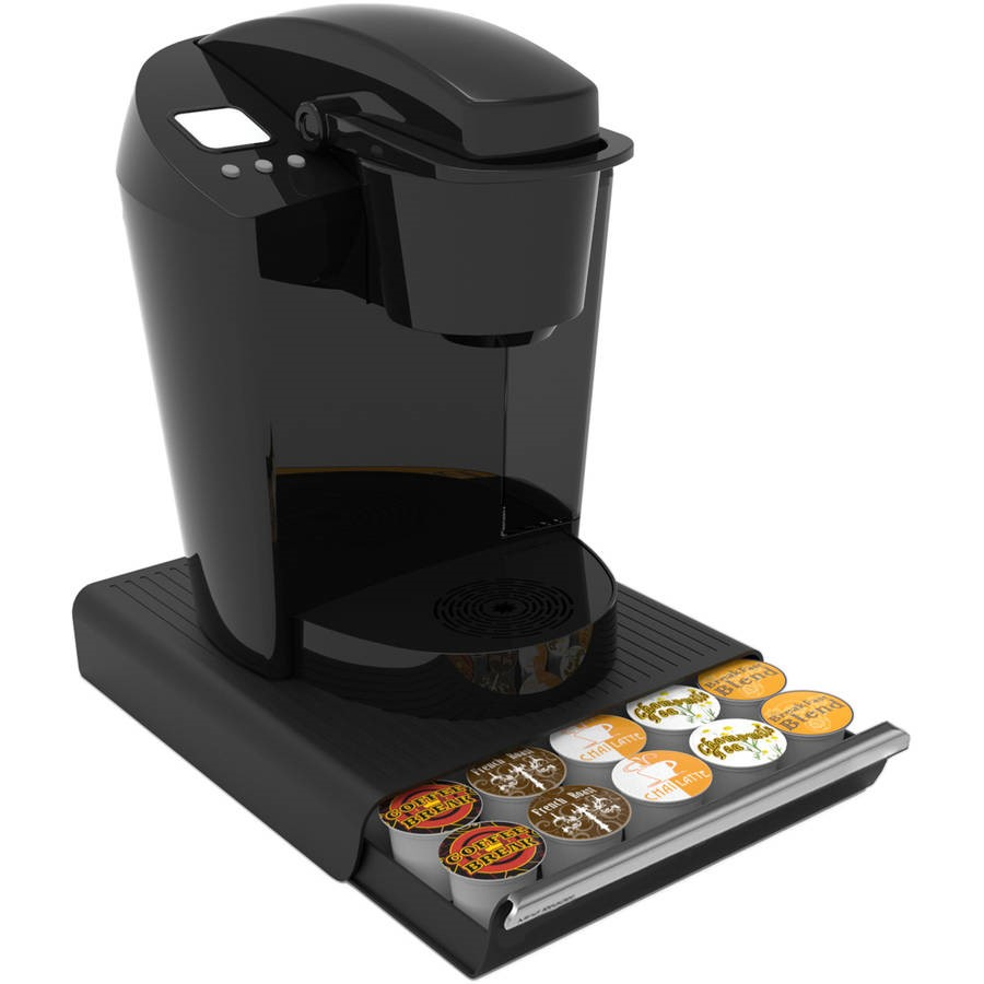 Mind Reader 30-Capacity Coffee Pod Drawer, Black