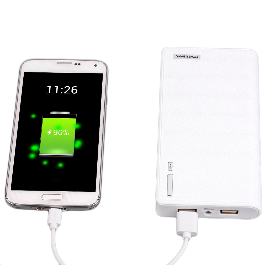 50000 MAh p ower bank Portable c harger +2 Usb Output Interface External B attery c harger For All d igital Device