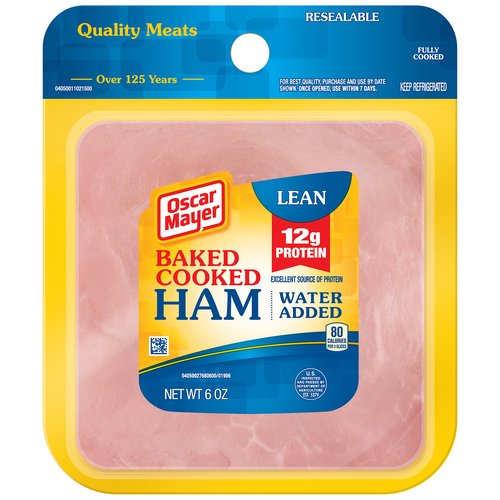 Oscar Mayer Lean Baked Cooked Ham, 6 oz