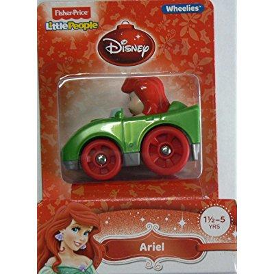 Fisher Price little people wheelies disney ariel