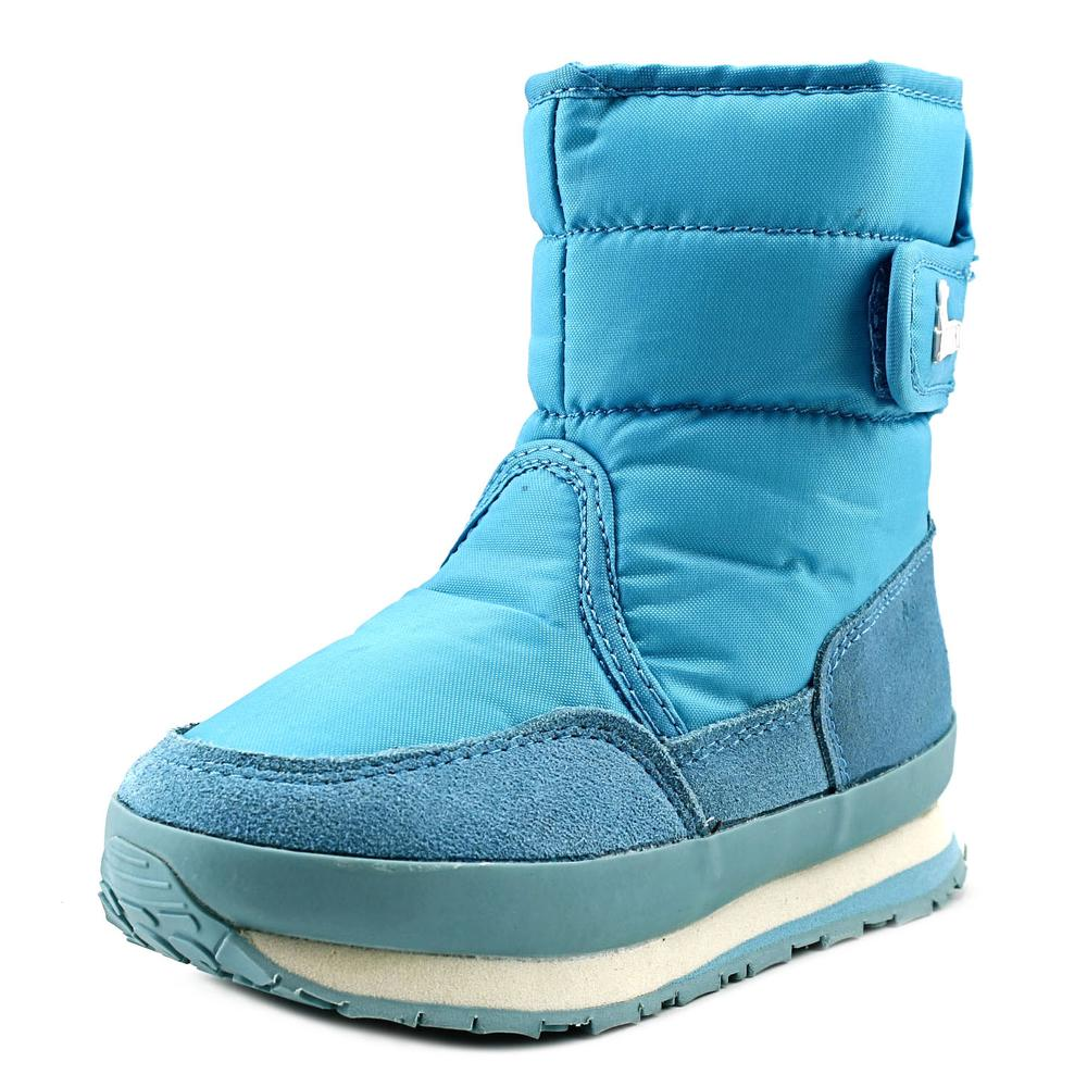 Rubber Duck Classic Snow Jogger Youth  Round Toe Synthetic Blue Winter Boot