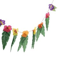 Fun Express - Garland W/ Large Leaves - Home Decor - Floral - Garlands & Swags - 1 Piece