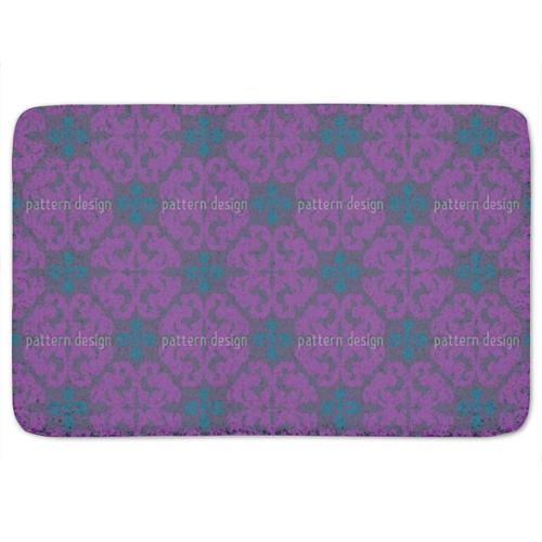Uneekee Paparock Purple Bath Mat