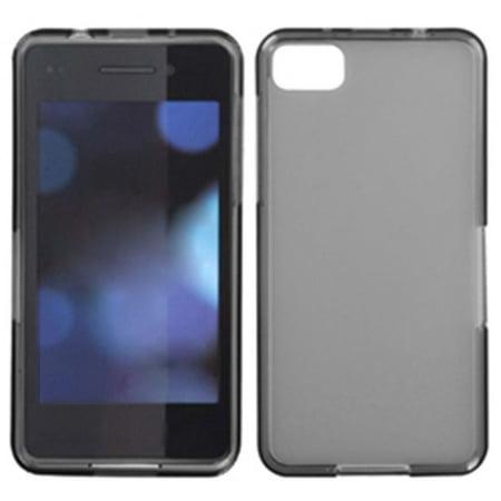 size 40 172f1 f1210 Insten Semi Transparent Smoke Candy Skin Case (Rubberized) for BLACKBERRY:  Z10