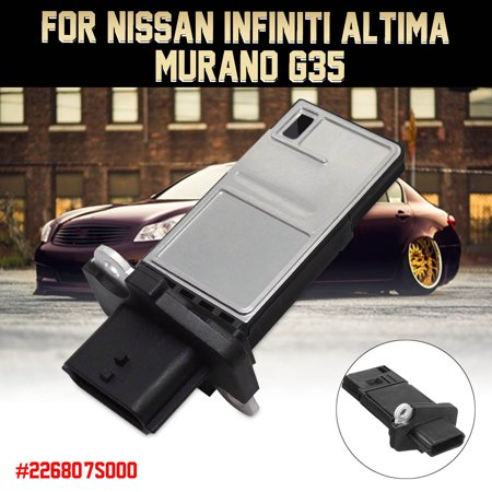 Car Mass Air Flow Monitor Sensor Meter MAF 5Pins Plastic For Murano Altima G35 22680-7S000 / AFH70M-38