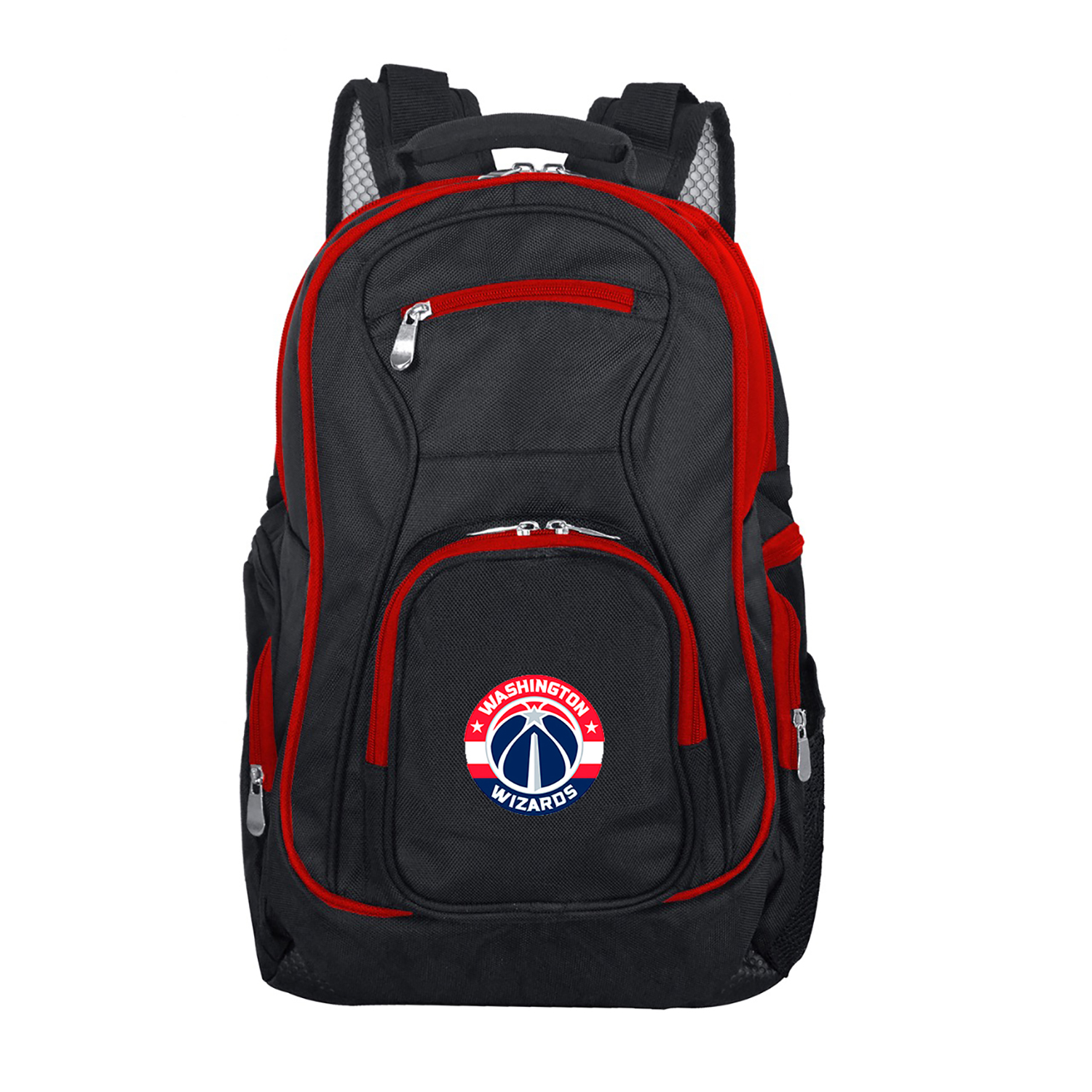 NBA Washington Wizards Premium Laptop Backpack with Colored Trim