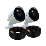 Night Owl 4K Ultra HD Wired Cameras with Built-in Motion Activated Spotlights (2PK)