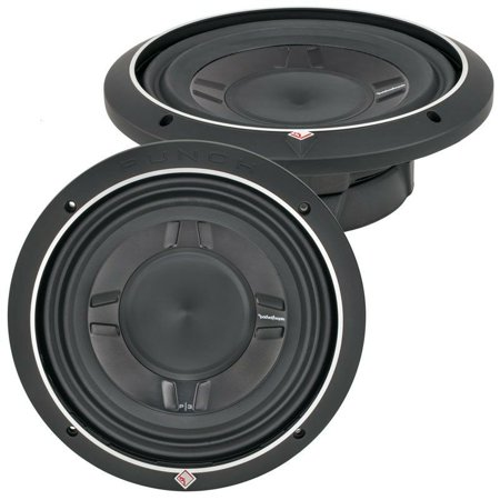 "ROCKFORD FOSGATE P3SD4-12 / PUNCH P3 SLIM SHALLOW 12"" DVC 4-OHM SUBWOOFER NEW"
