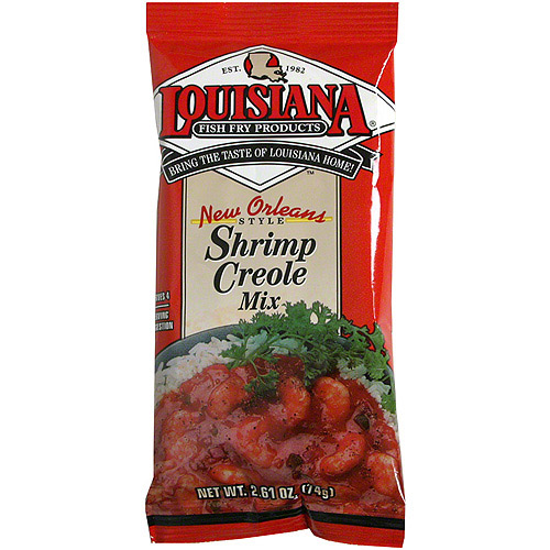 Placeholder Louisiana Fish Fry New Orleans Shrimp Creole Mix, 2.61 oz (Pack of 24)