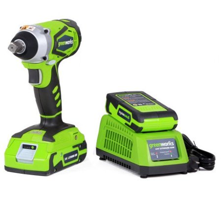 Greenworks 24V Cordless Lithium-Ion Impact Wrench