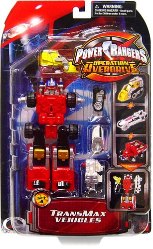 Power Rangers Operation Overdrive TranxMax Vehicles [Set A] by