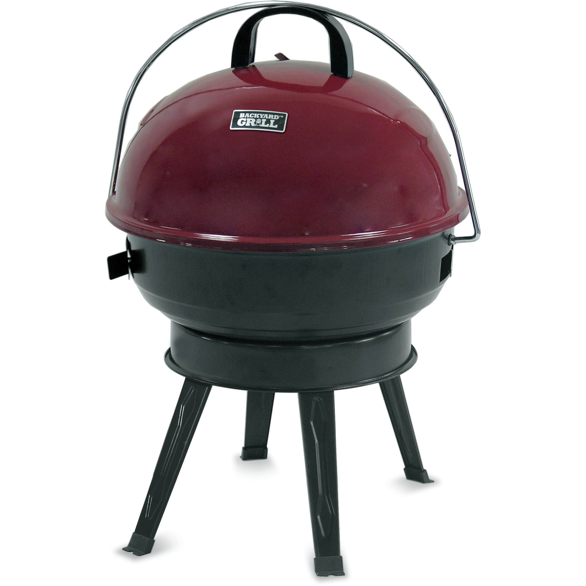 "Backyard Grill 14.5"" Round Portable Charcoal Grill"