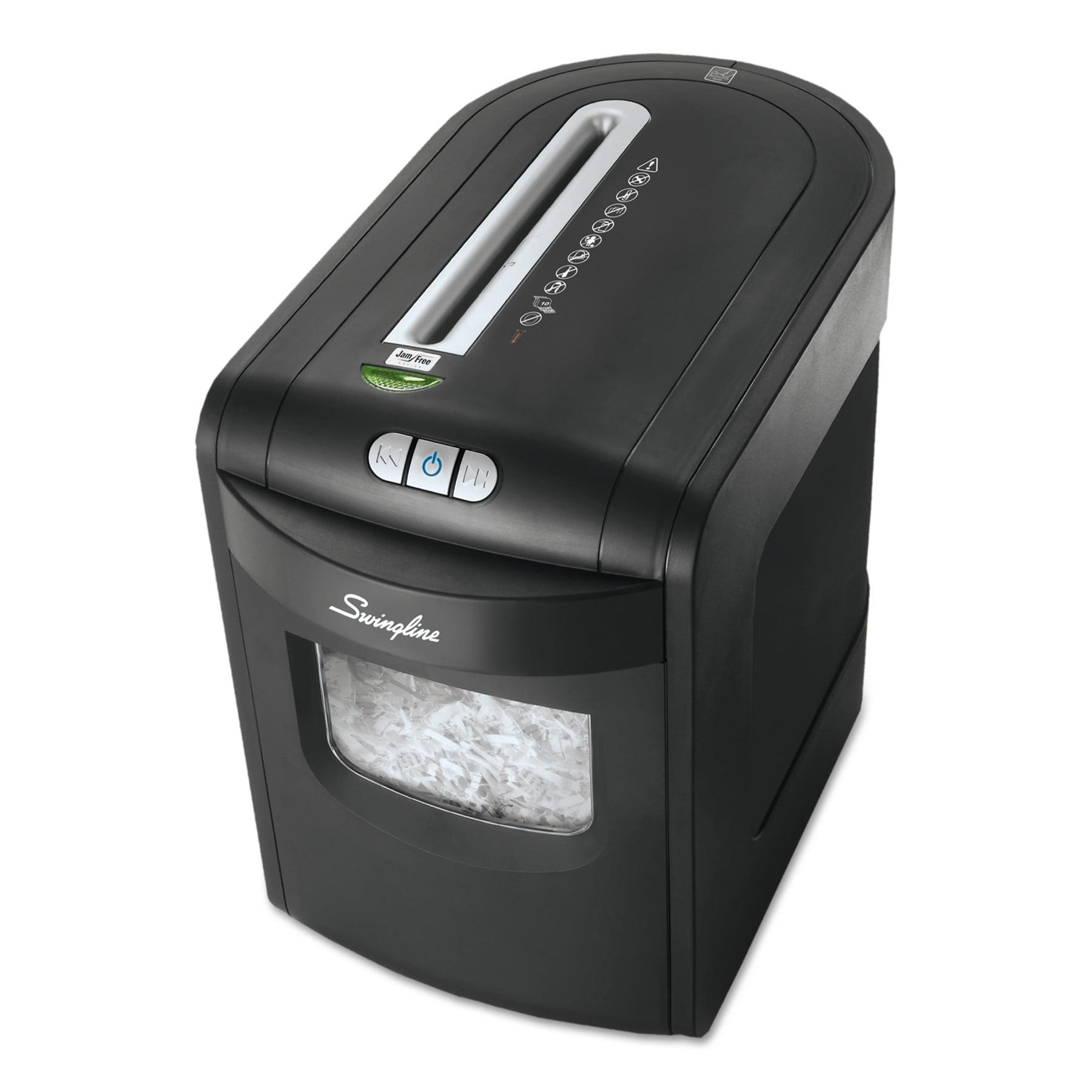 Swingline EM07-06 Micro-Cut Jam Free Shredder, 7 Sheets, 1-2 Users