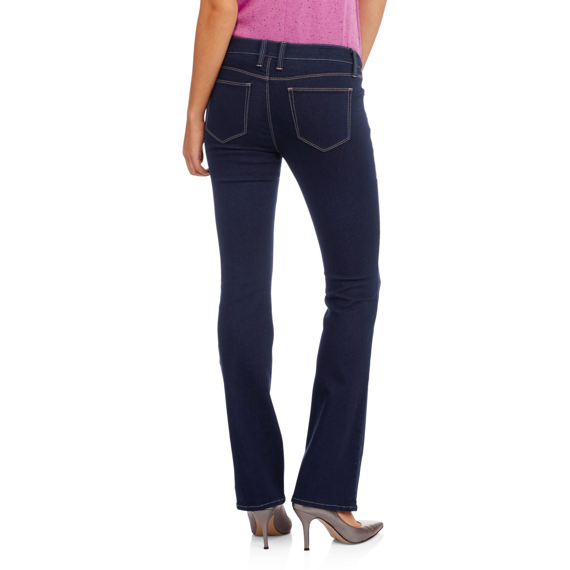 No Boundaries Juniors' Classic Slim Bootcut Jeans - Walmart.com