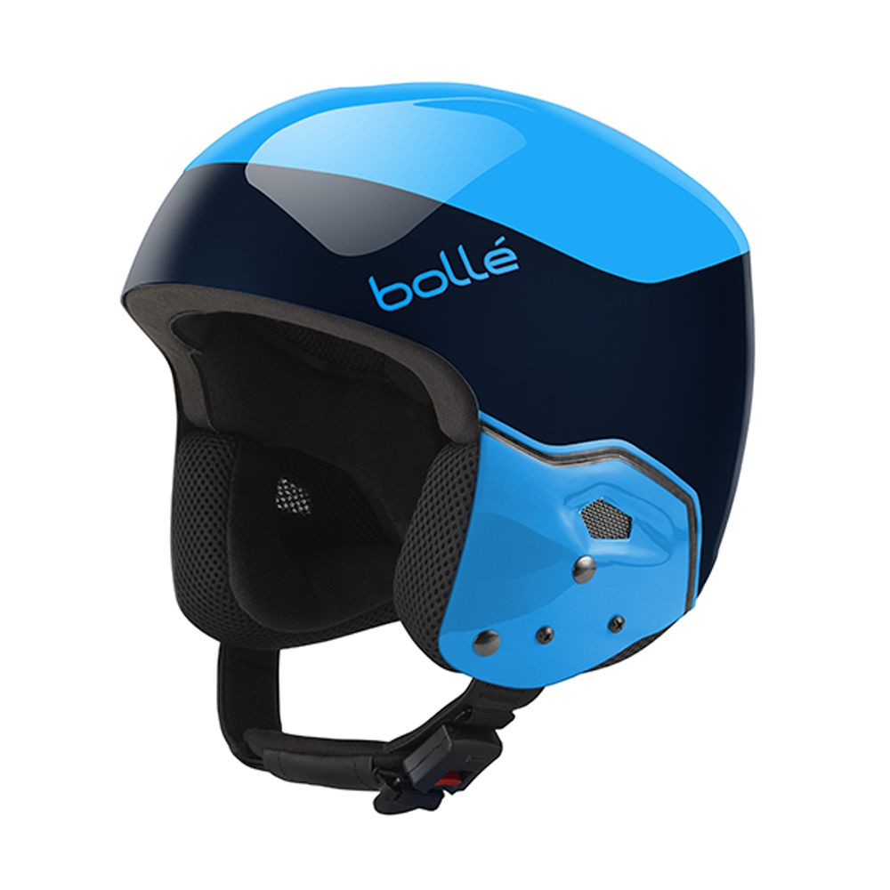 Bolle Winter Medalist Navy & Cyan 55-56cm 31398 Ski Helmet FIS Approved by Bolle
