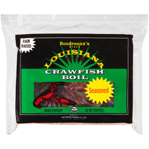 Boudreaux's Louisiana Style Crawfish Boil, 2 lbs