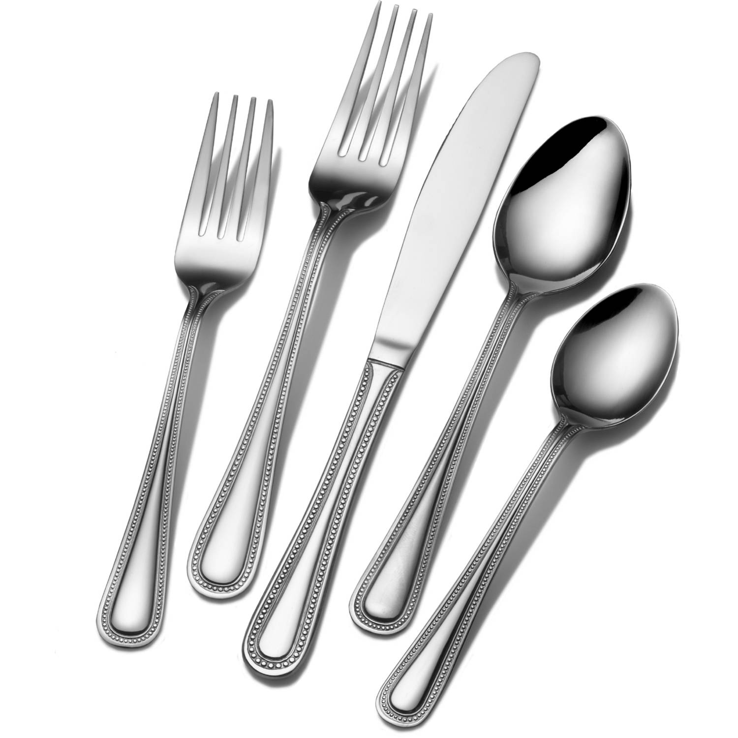 International Silver Pearl 45-Piece Flatware Set