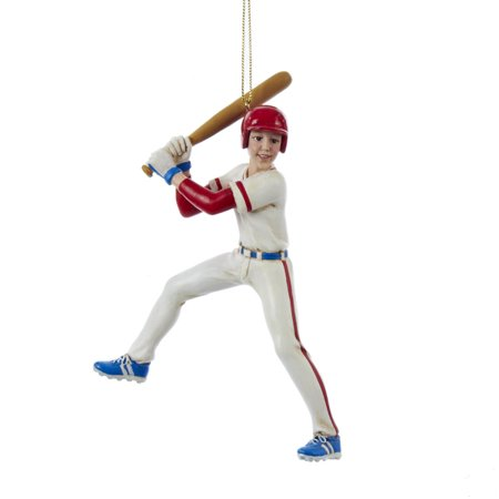kurt adler 5.5-inch baseball boy christmas ornament - Baseball Christmas
