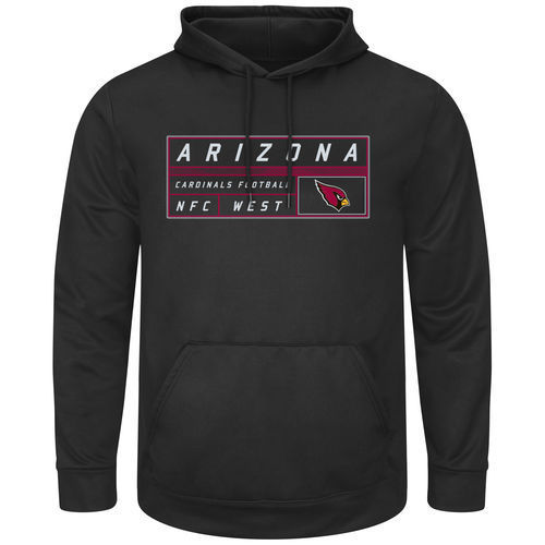 Arizona Cardinals Mens Startling Success Pullover Hoodie by Majestic by