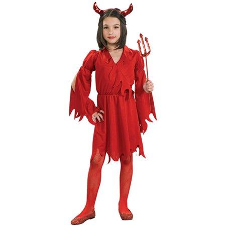 Child Devil Girl Costume Rubies 881953 for $<!---->