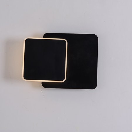 Creative Bedside Wall Lamp LED Wall Lamp Home Decor Modern Square Lamp Light - image 6 of 8